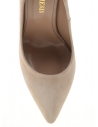Adela Kadın Topuklu Ayakkabı Bej Süet
