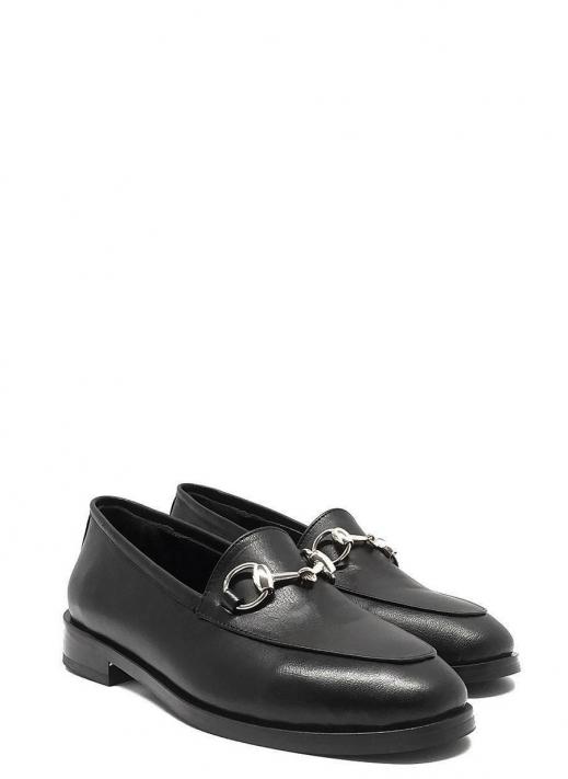 Galina Kadın Ayakkabı Siyah Deri