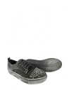 39026 Kadın Snekars Ayakkabı Siyah Nubuk