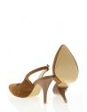 Anisa Kadın Topuklu Ayakkabı Taba Süet