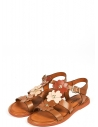 39376 Kadın Sandalet Taba Deri